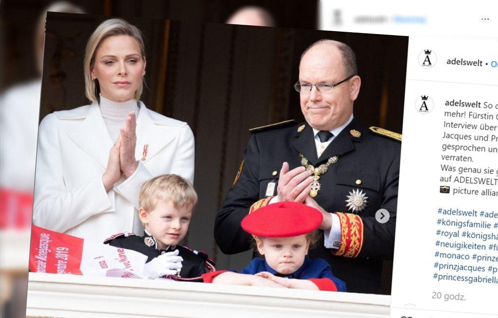 Księżna Monako opowiedziała, że wychowanie dwójki dzieci jest trudne