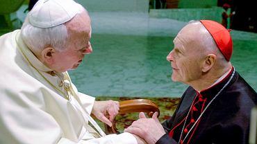 Theodore Edgar McCarrick na audiencji u Jana Pawła II