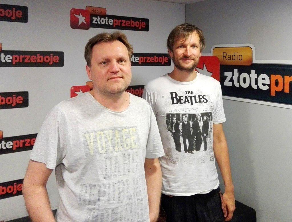 Kuba Mędrzycki i Michał Szulim