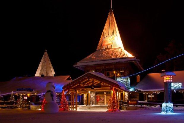 Wioska św. Mikołaja w Rovaniemi