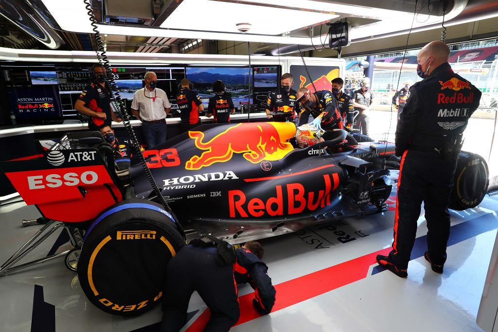 Bolid Formuły 1 to cud techniki