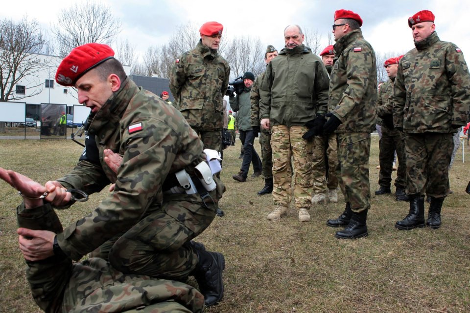 19 marca, Mińsk Mazowiecki, Centrum Szkolenia Żandarmerii Wojskowej