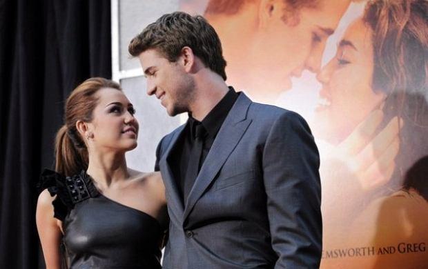 Miley Cyrus, Liam Hemsworth.