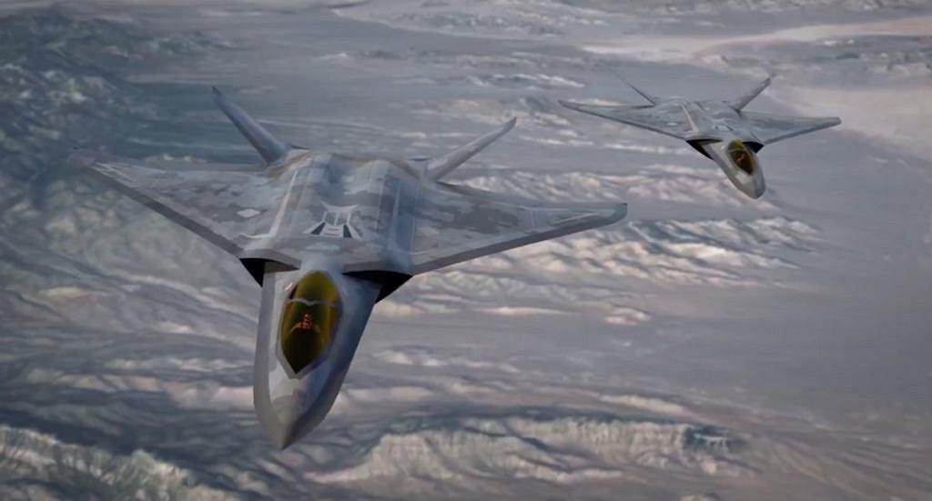 Wczesna koncepcja myśliwca szóstej generacji od Lockheed Martin. Nie wiadomo, czy ma coś wspólnego z aktualnym NGAD