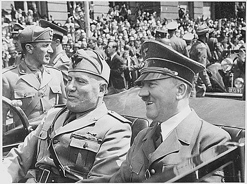 Hitler i Mussolini