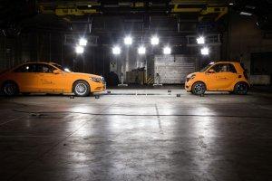 Smart Fortwo vs Mercedes S Klasy
