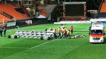 Katastrofa po meczu Lorient - Rennes