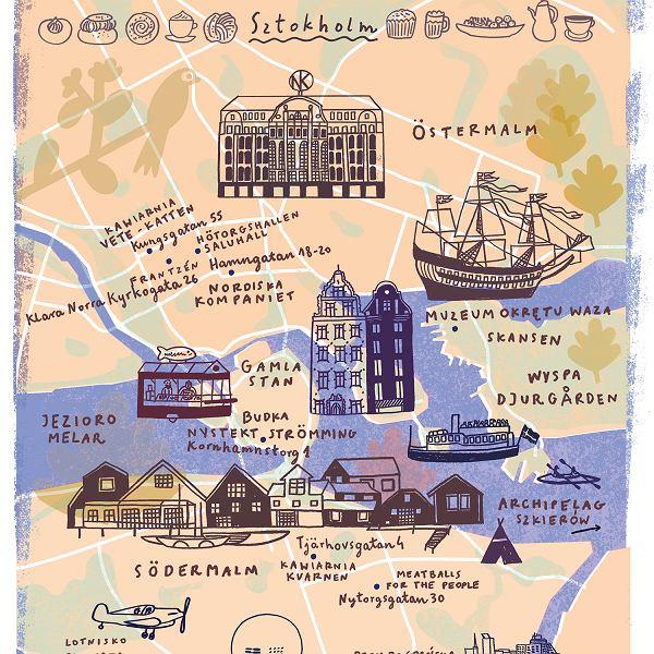 Mapa Sztokholmu