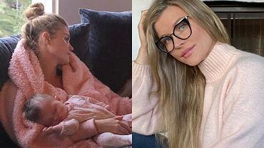 Joanna Krupa wyleguje się na kanapie z córką i psami. To nie spodobało się jednemu z fanów. Głos zabrała też Lewandowska