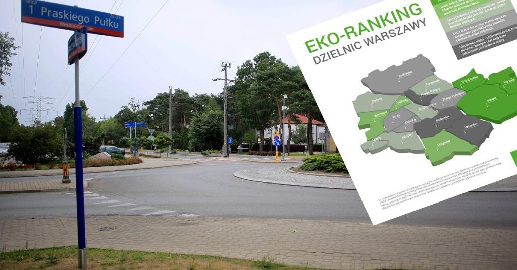 Ekoranking dzielnic Warszawy