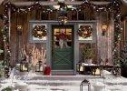 Wokół drzwi - dekorujemy drzwi wejściowe na Boże Narodzenie
