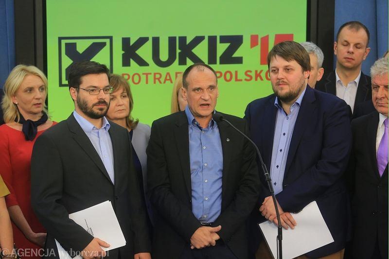 Członkowie klubu Kukiz'15