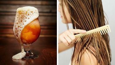 Piwo można wykorzystać do zrobienia maseczki lub płukanki do włosów