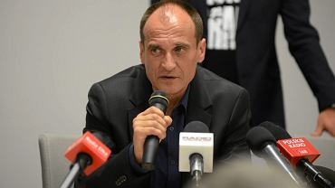 Paweł Kukiz podczas zjazdu woJOWnikow Kukiza