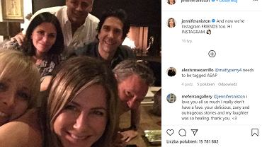 Matthew Perry - gwiazda kultowego serialu 'Przyjaciele' założył oficjalne konto na Instagramie