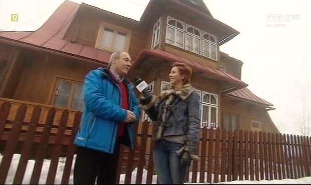Bronisław Stoch, dom Kamila Stocha, Ząb