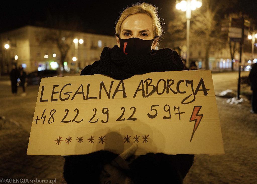 Strajk Kobiet w Częstochowie, 5 lutego 2021 r.