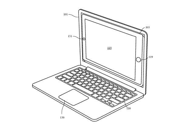Apple patent iPad