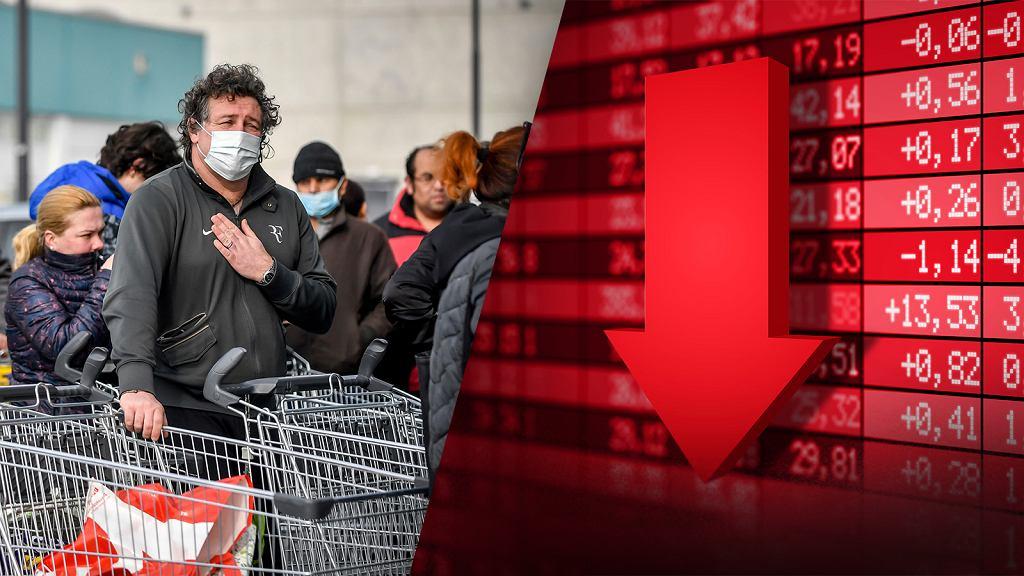 Koronawirus wystraszył inwestorów