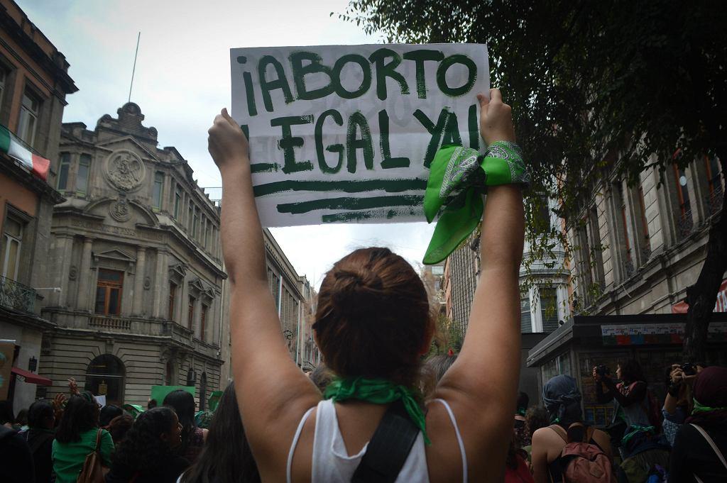 Walka o legalną aborcję w Argentynie