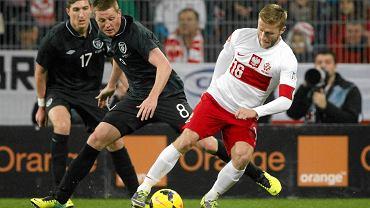 Jakub Błaszczykowski w meczu z Irlandią
