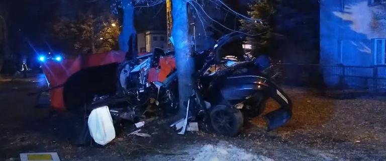 Lublin. Dwóch młodych mężczyzn zginęło w nocy w tragicznym wypadku