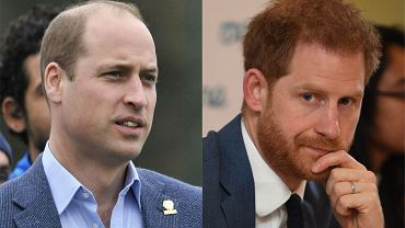 Książę Harry i książę William nie dogadują się