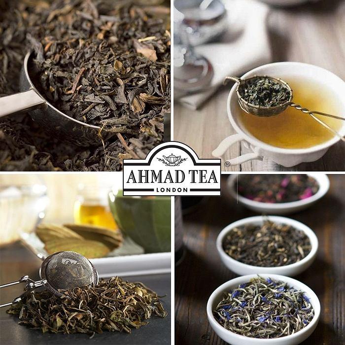 Liście herbaty Ahmad Tea London