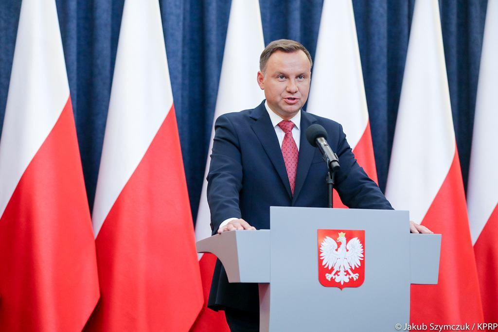 Andrzej Duda o referendum ws. konstytucji. Podał pytania do referendum