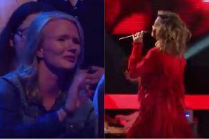 Kadr z niemieckiego 'The Voice'