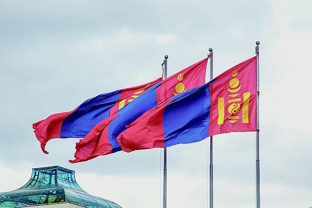Flaga Mongolii