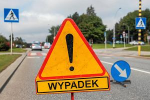 Wypadek na ul. Lwowskiej w Rzeszowie. Dwie osoby ranne. Uwaga na utrudnienia
