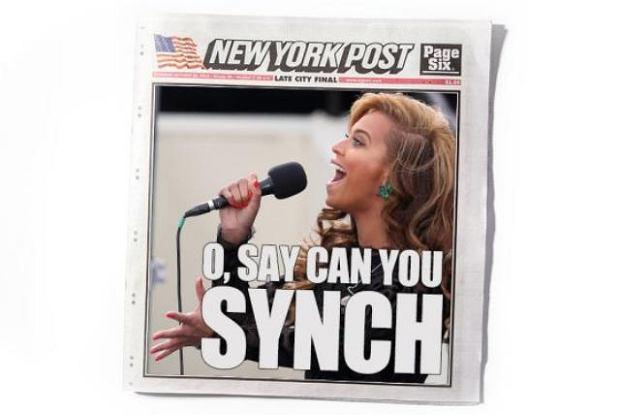 Okładka New York Post