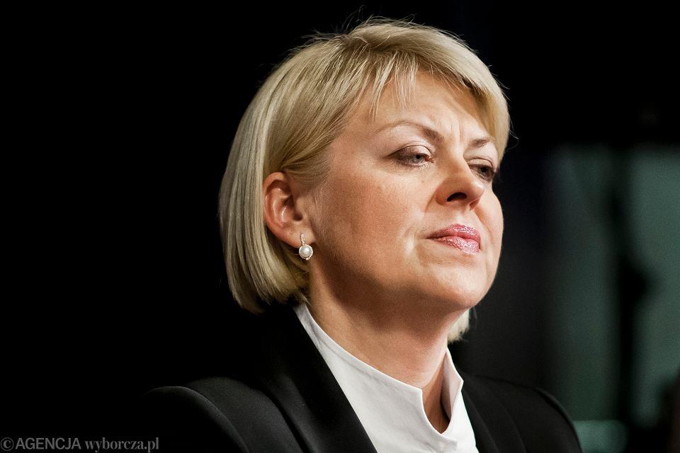 Przewodnicząca Związku Polaków na Białorusi Andżelika Borys.