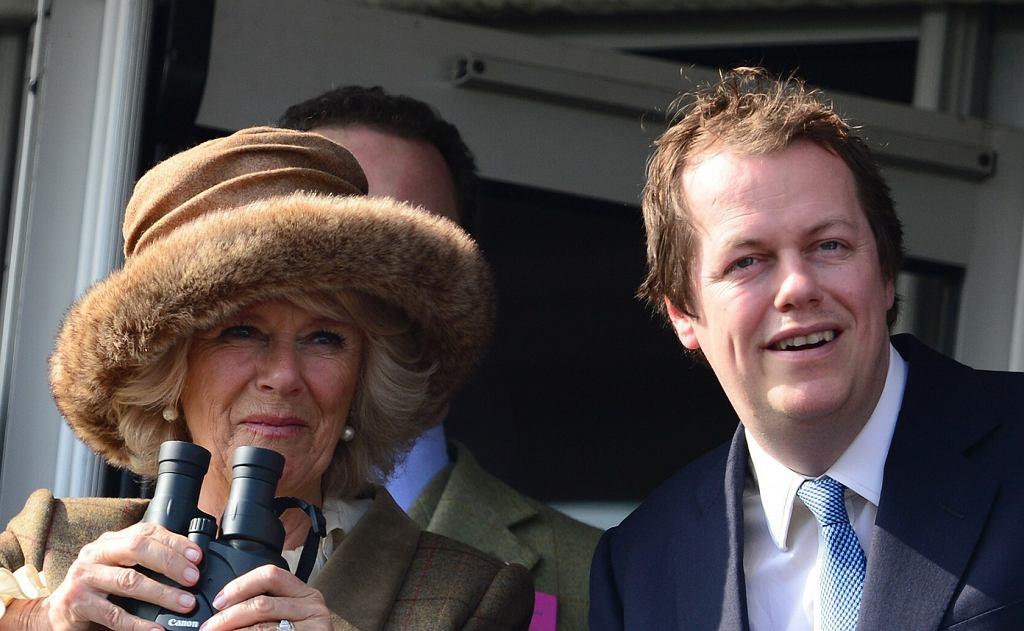 Camilla z synem