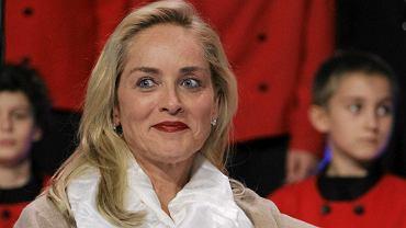 Sharon Stone na Światowym Szczycie Laureatów Nagrody Nobla