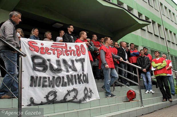 Górnicy z Kazimierza-Juliusza protestują. Nie dostali pensji
