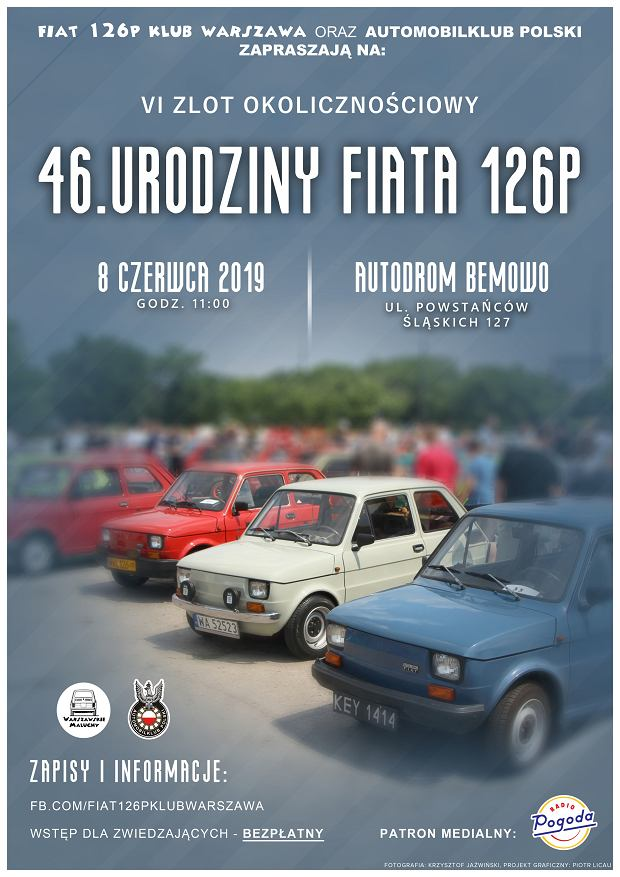 46. urodziny Fiata 126p