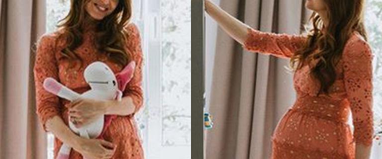 Katarzyna Burzyńska lada moment rodzi. Dziennikarka pokazała pokój córeczki. Szczególną uwagę zwraca jeden szczegół