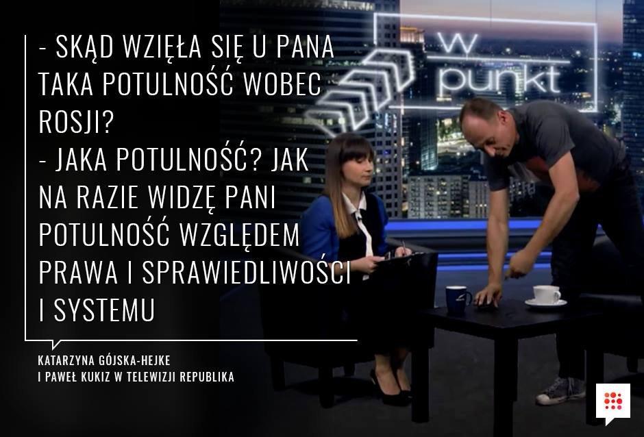Katarzyna Gójska-Hejke i Paweł Kukiz