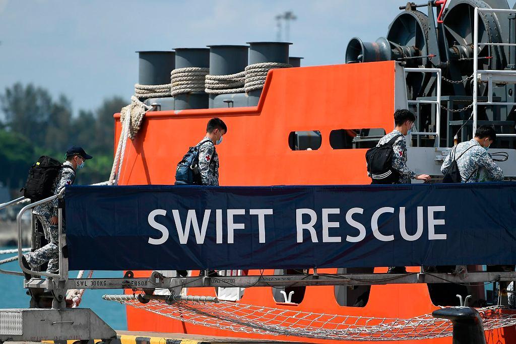 Indonezja. Poszukiwanie zaginionego okrętu podwodnego