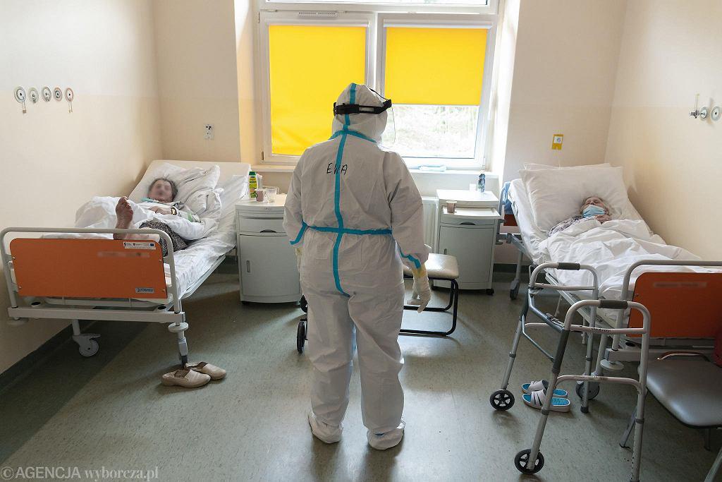 Koronawirus. Szpital jednoimienny. Zdjęcie ilustracyjne