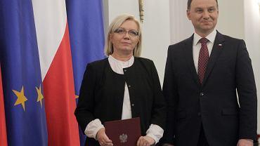 21.12.2016, Julia Przyłębska po zaprzysiężeniu na prezesa Trybunału Konstytucyjnego.
