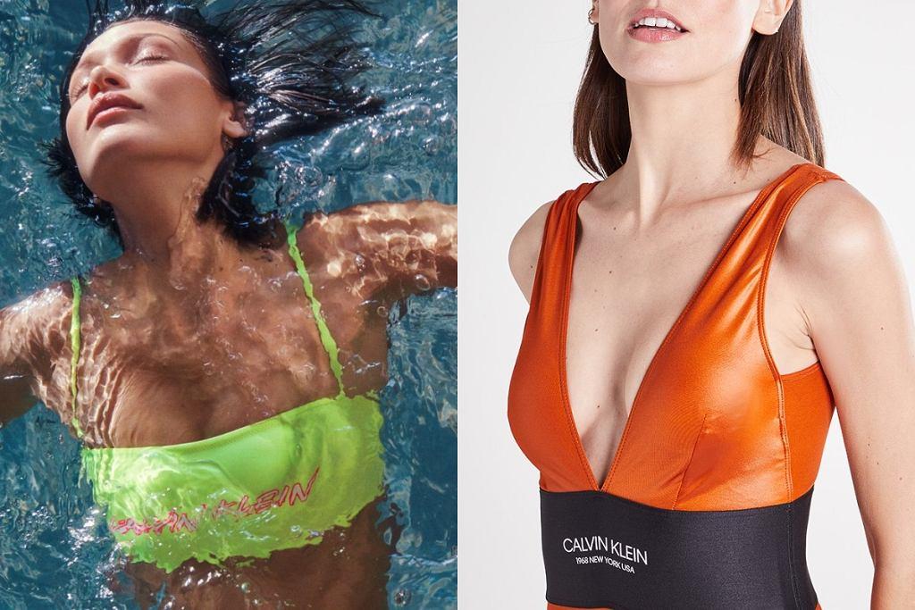 kostium kąpielowy Calvin Klein
