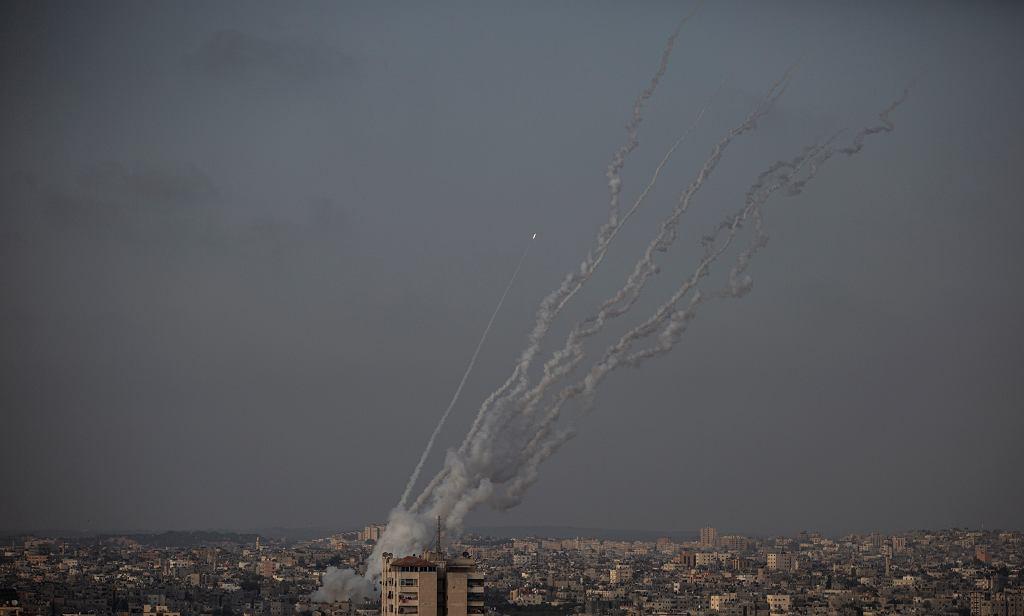 Ostrzał rakietowy z Gazy