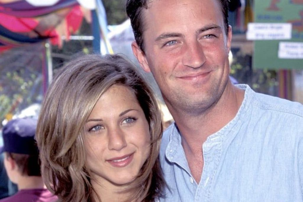 Matthew Perry i Jennifer Aniston