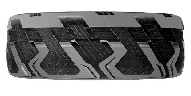 Goodyear BH03 - opona wytwarzająca prąd elektryczny