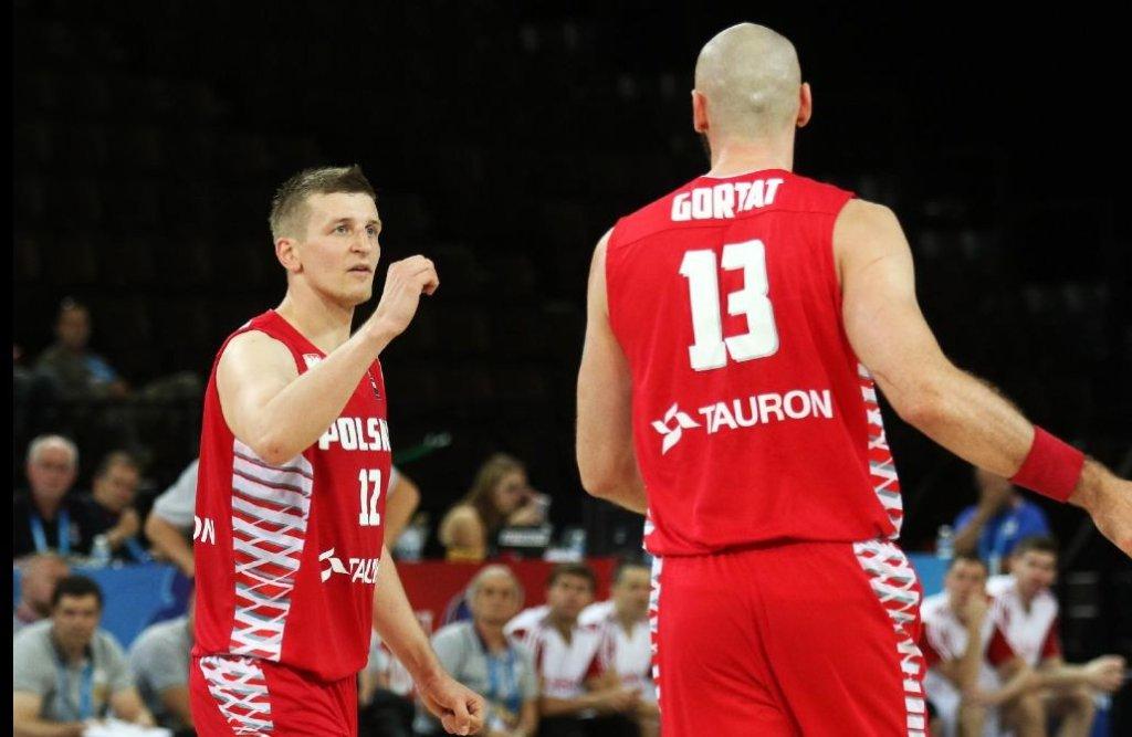 Adam Waczyński i Marcin Gortat