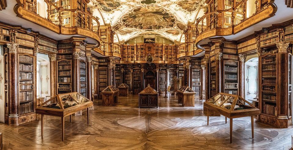 Biblioteka w opactwie św. Gallena