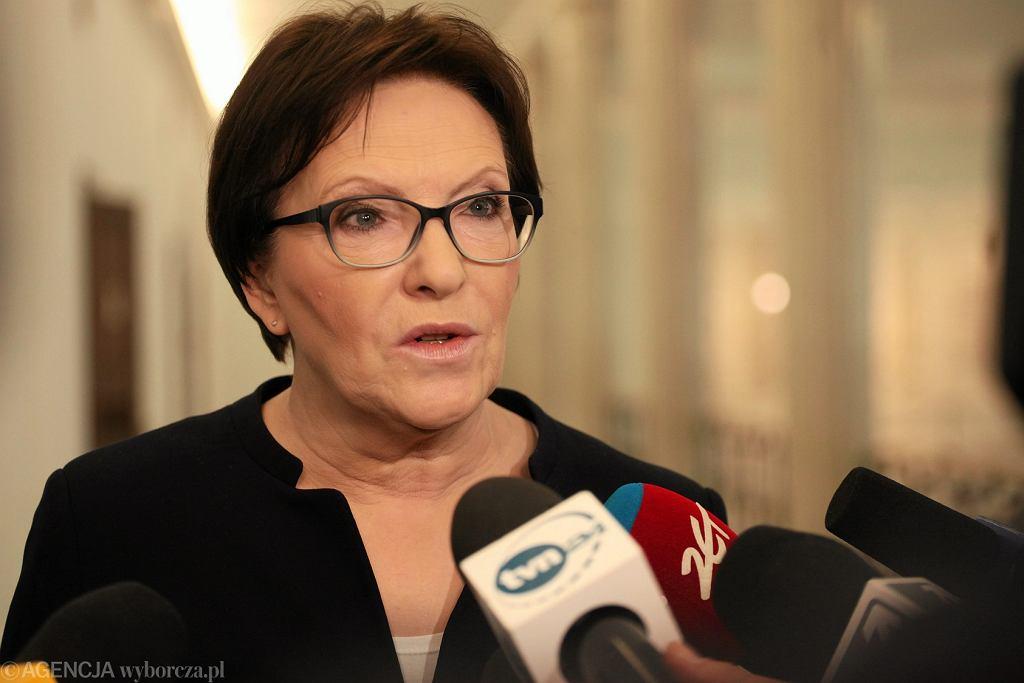 Ewa Kopacz skrytykowała pomysł likwidacji obowiązkowych szczepień
